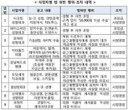 '돈 받고 치료후기인 척' 블로그‧카페 게재…공정위 성형외과 병‧의원 9개 적발