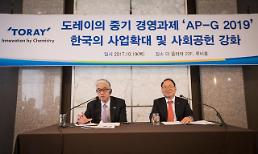 일본 도레이 한국 인프라 우수…2020년까지 1조원 투자