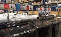 50% 관세폭탄 맞으면 삼성·LG 세탁기 美 판매가격 '600달러→1500달러 치솟아'