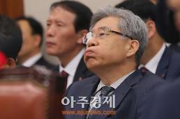 [AJU PHOTO] 함승희 강원랜드 사장, 깊은 한숨