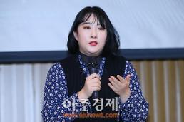 [포토] 소감 말하는 배우 황도원 (지렁이 특별상영회)
