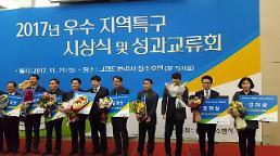 시흥 오이도특구, '중소벤처기업부 장관상' 수상