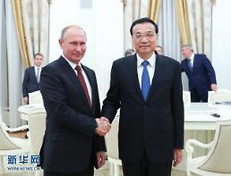 리커창·푸틴 모스크바 회담…北 미사일 도발 논의한 듯
