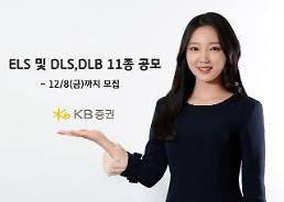 KB증권 ELS‧DLS‧DLB 11종 공모