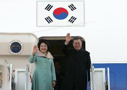 문 대통령, 중국 베이징으로 출국…3박4일 국빈방문 일정 돌입