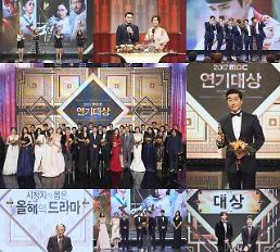 2017 SBS 연예대상 평균 시청률 13.8% 최고 18.2% 시청률 1위···영예의 대상은 미우새