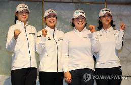 '한화→한화큐셀 골프단' 새 출발…'이정민 합류' 총 9명 구성