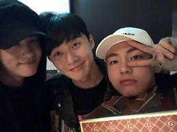 [★SNS#] 윤식당2 박서준, 알고보니 방탄소년단 뷔와 절친? 세계1위 미남과…