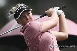 LPGA 여자 골퍼 헨더슨, 남자 대회 출전해 '7위 입상'