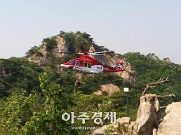 충남소방헬기 작년 139건 출동·28명 이송