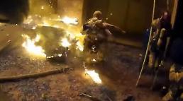 [아주동영상] 美 화재 주택 3층에서 떨어지는 아이 받아낸 소방관
