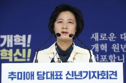 """추미애 대표도 '개헌 드라이브'…""""文정부 집권 2년차, 개헌+개혁"""""""