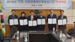 한국폴리텍대학 남인천캠퍼스 2018년 지역·산업 맞춤형 인력양성사업 약정체결