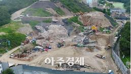 경기도, 택지개발지구 비산먼지 단속 강화...드론으로 촬영