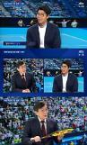 한국 테니스 역사 새로 쓴 정현, 뉴스룸 출연…We on fire 외쳐