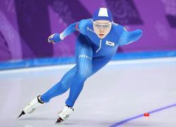 [평창동계올림픽] 노선영, 아픔 딛고 최선 다한 경기…개인 올림픽 기록 경신