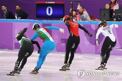 [평창동계올림픽] 최민정, 0.027초차로 女 쇼트트랙 500m 준결승 진출