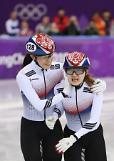 [평창동계올림픽]최민정,여자 쇼트트랙 1500m 금메달..김아랑,0.107초차로 4위