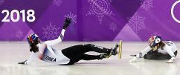 [평창] 쇼트트랙 남자 500m 최초 '동반 메달' 여자 1000m는 '노메달'