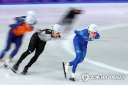[평창] 이승훈, 역시 매스스타트 '랭킹 1위'…정재원과 가볍게 결승 진출