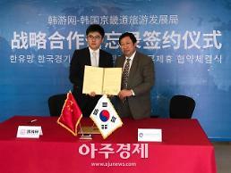 경기도, 중국 대표 한국여행 사이트 '한유망'과 맞손