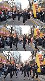 씨엘씨(CLC), 길거리 커버댄스팀 공연 도중 홍대 깜짝 등장
