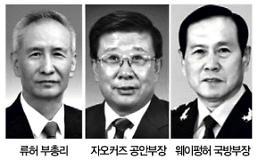 시코노믹스 설계자 류허 부총리 임명…군부·공안 국무위원도 習측근