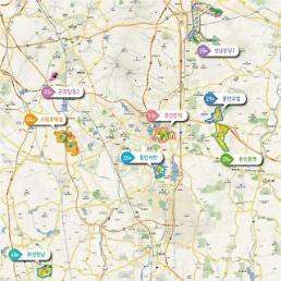 LH, 수원호매실 등 경기남부 사업지구 토지 공급