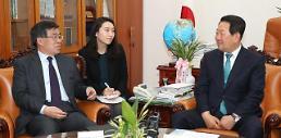 박주선, 中 류홍차이 접견…한·중 관계는 순망치한