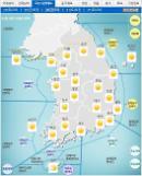 '날씨'미세먼지'좋음ㆍ보통'..전국 맑고 낮 최고22도