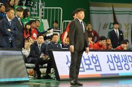 """김승기 감독 """"오~ 세근아""""…인삼공사 벼랑 끝 '확률 0%'"""