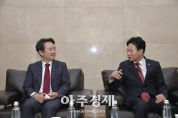 김종천 포천시장, 경기도청 방문해 세일즈 행정 펼쳐