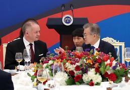 한·슬로바키아 정상회담…4차산업 미래지향적 협력 확대