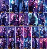 개봉 D-7 어벤져스: 인피니티 워, 메인히어로 총출동한 22종 포스터 공개