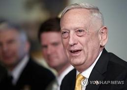 매티스 미 국방장관 북한과 평화로 가는 새로운 길 검토 중