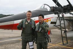 미 공군 조종사, T-50 등 국산 항공기 시험비행