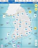 '날씨'전국 흐리고 최고200㎜이상'비'..돌풍,천둥ㆍ번개..낮최고19도