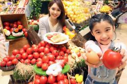 신세계百, 달걀 닮은 '에그토마토' 샐러드에 제격
