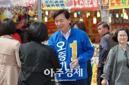 [6ㆍ13 지방선거] 오중기 더불어민주당 경북도지사 후보, 7번국도 '종횡무진'