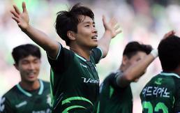 이동국 쐐기골 전북, 2-0으로 수원 꺾고 선두 질주