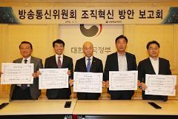방통위 조직혁신 방안 '발표'…성과지향 '초점'
