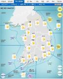 '날씨'전국 맑고 강원영동, 전라ㆍ경북 새벽에 비... 낮 최고 25도