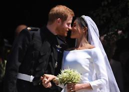 [글로벌 포토] 해리왕자·마클 영국과 세계가 지켜본 행복한 결혼식