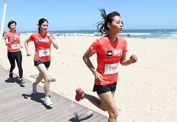 올림픽 도시를 달리다… '노스페이스 100 코리아' 성황리 종료