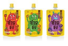 CJ제일제당, 어린이 음료 '한뿌리 키크몬 홍삼' 출시