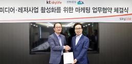 KT스카이라이프, 용평리조트와 미디어·레저사업 활성화 나선다