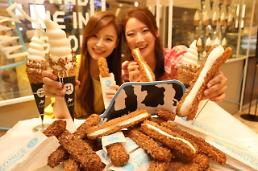 롯데백화점, 여름 한정 샌드아이스크림 히야자쿠 론칭