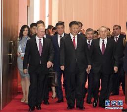 시진핑, 우방과 손잡고 트럼프 보호주의 견제구