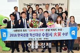 정조대왕 능행차 공동 재현한 수원·서울·화성시, 2018 한국관광혁신대상 종합대상 공동수상