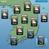[오늘의 날씨 예보] 제주도는 장마 시작, 낮부터 최고 60mm 비…미세먼지 농도 WHO 기준 한때 나쁨
